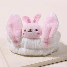 Rabbit Detail Bath Headband