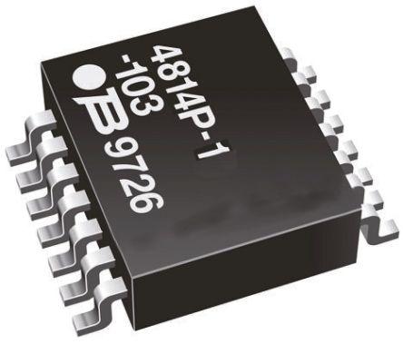 Bourns Bussed SMT Resistor Network 2.2kΩ ±2% 15 Resistors, 1.28W Total, SOM package 4800P Standard SMT (5)