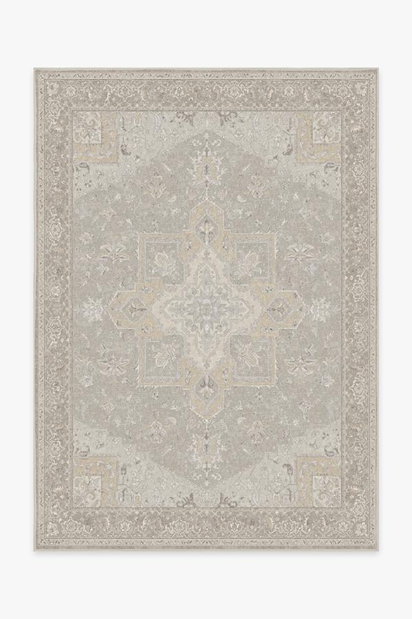 Washable Rug Cover & Pad | Maral Heriz Creme Rug | Stain-Resistant | Ruggable | 5x7