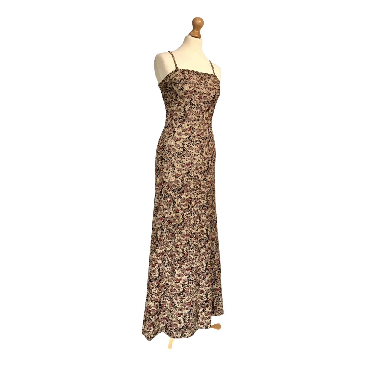 Mary Quant \N Kleid in  Beige Spitze