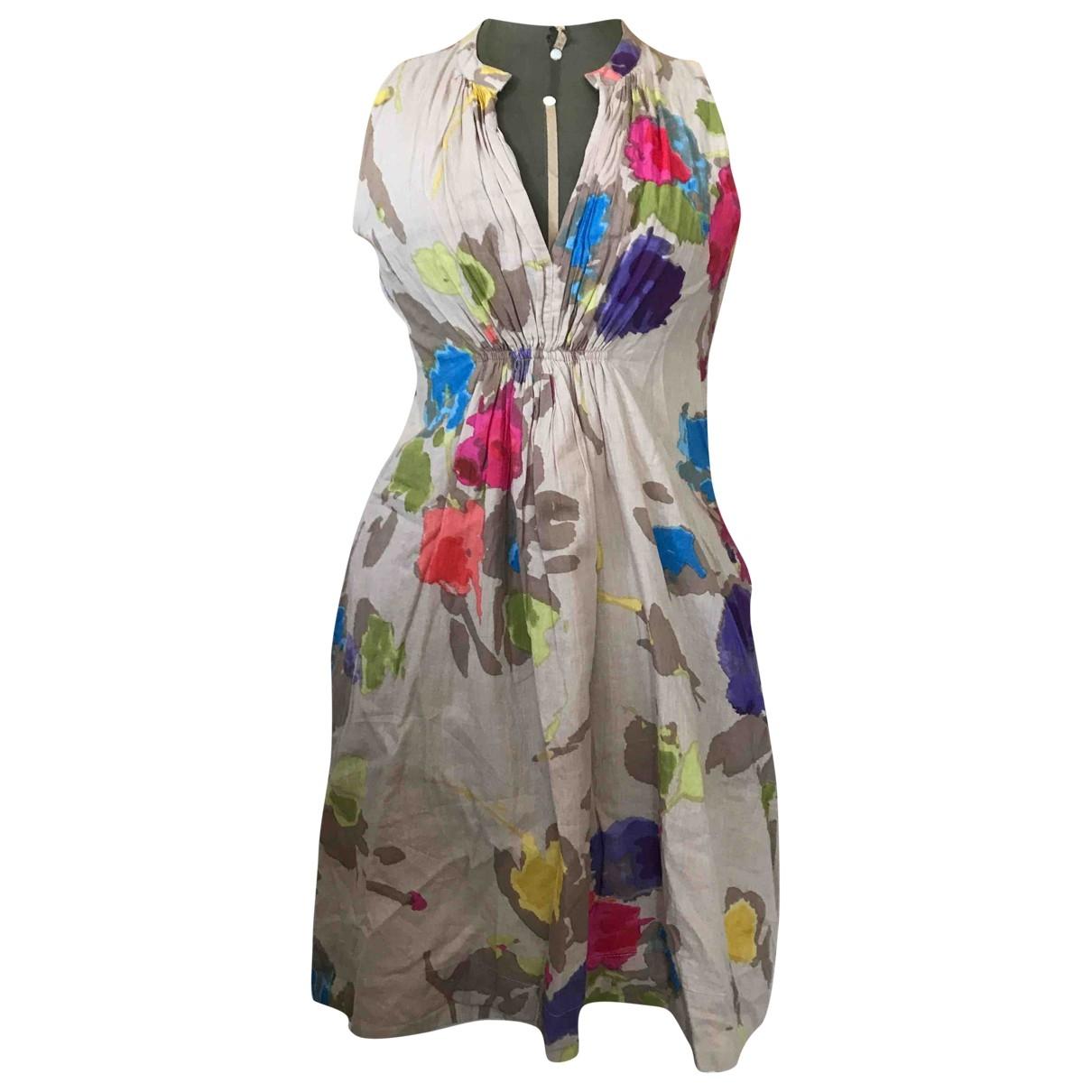 Adolfo Dominguez - Robe   pour femme en coton - multicolore