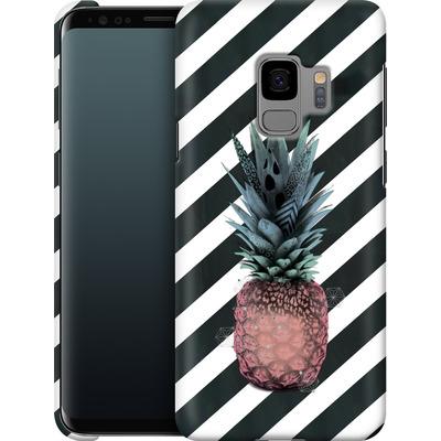 Samsung Galaxy S9 Smartphone Huelle - Pink Pineapple von Victoria Topping