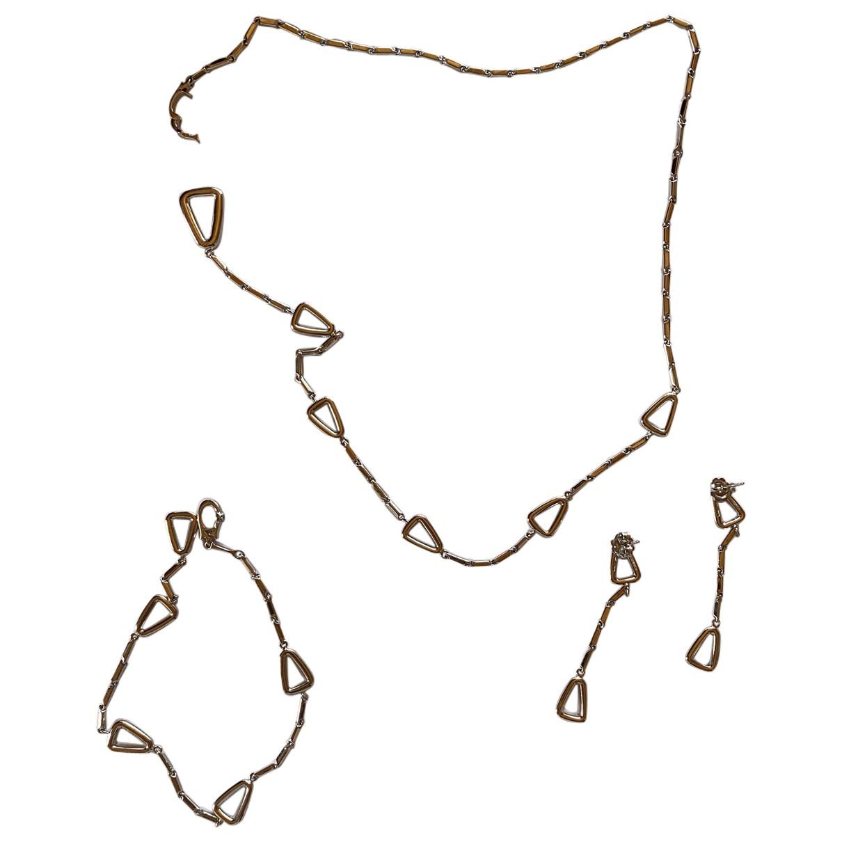 Chimento - Sautoir   pour femme en or blanc - argente