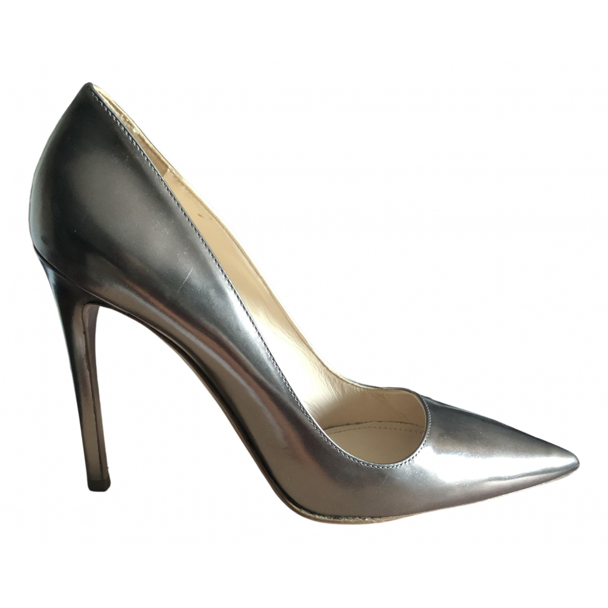 Prada N Leather Heels for Women 39 EU
