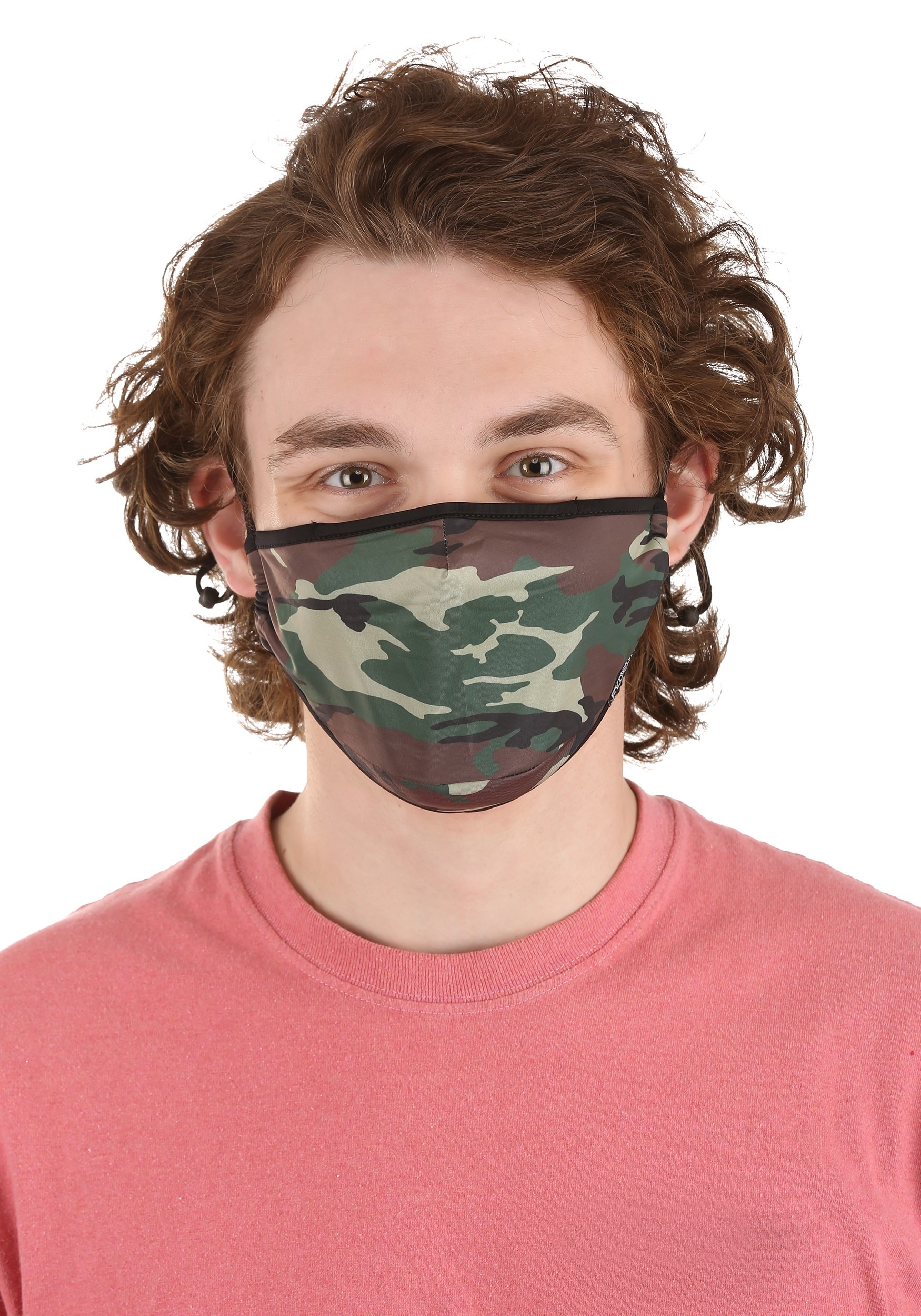 Protective Camo Fabric Face Covering Mask