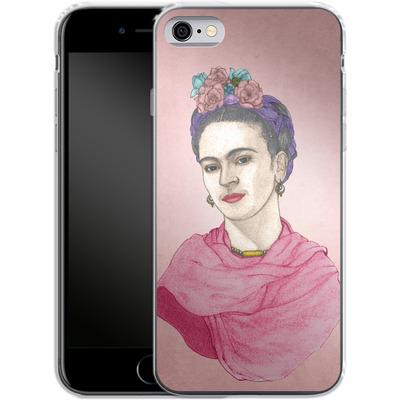 Apple iPhone 6s Silikon Handyhuelle - Frida von Barruf