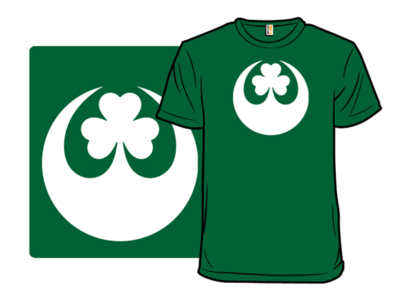 May The Luck Be With You T Shirt