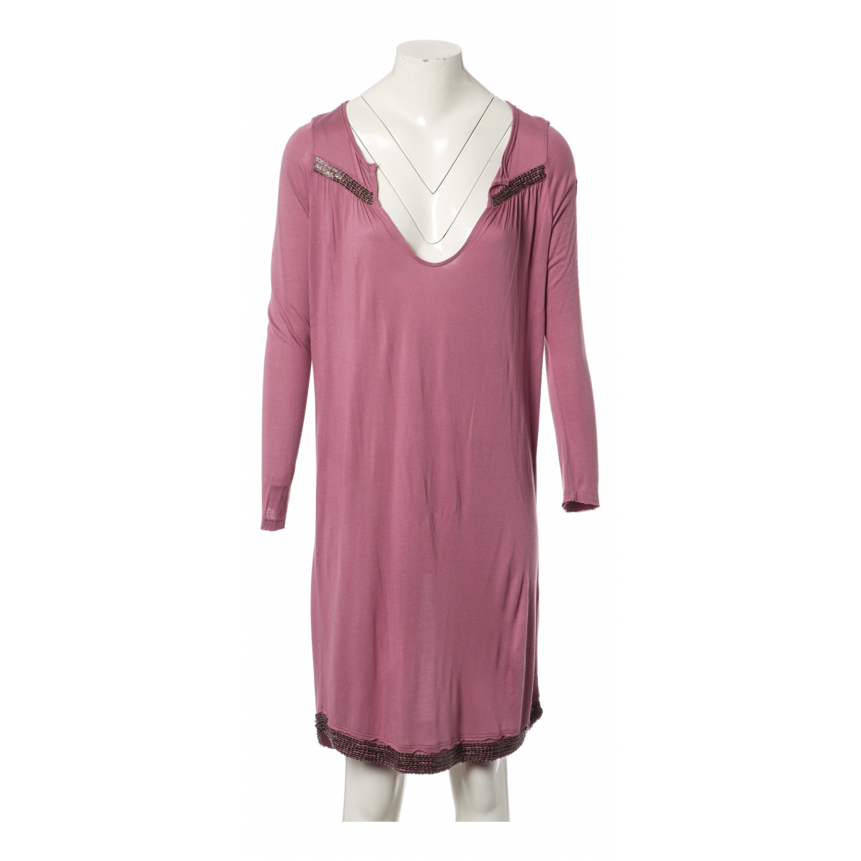 Zadig & Voltaire \N Kleid in  Rosa Synthetik