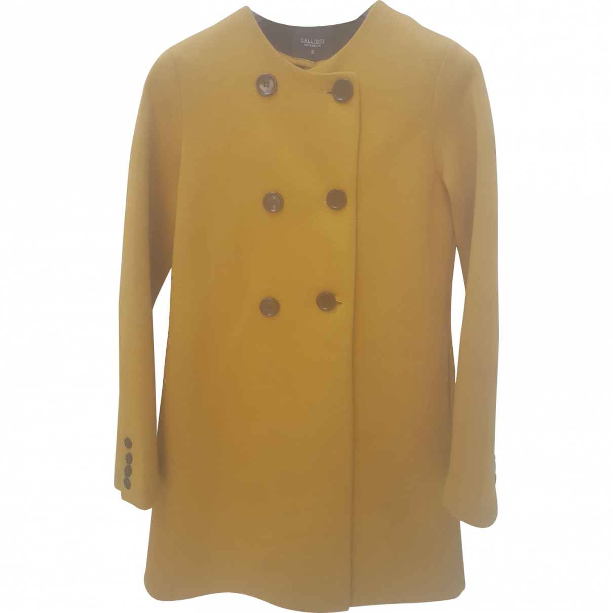 Non Signé / Unsigned \N Yellow coat for Women S International