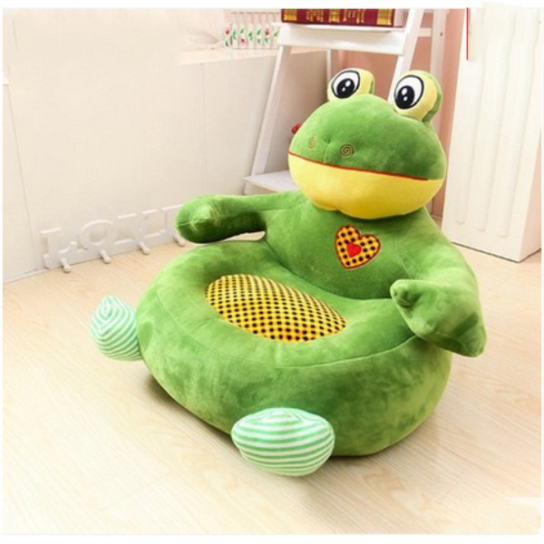 Adroable Frog Cartoon Pattern Children Lazy Sofa Tatami Seat