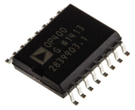 Analog Devices OP400GSZ , Op Amp, 500kHz, 16-Pin SOIC W