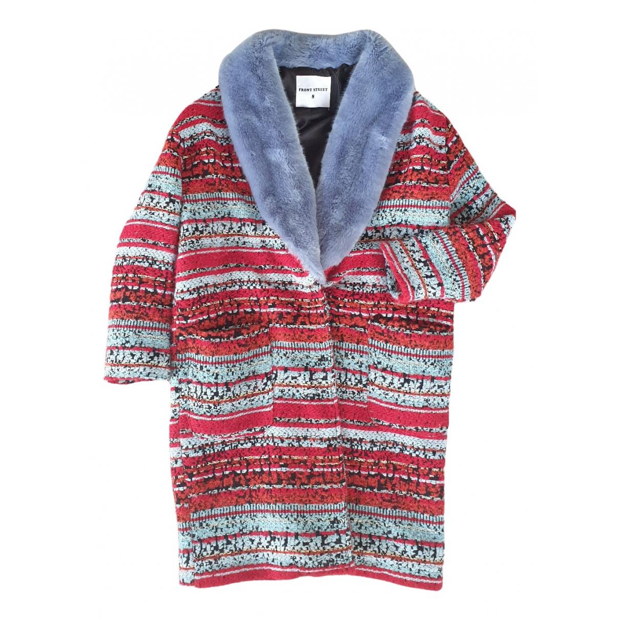 Front Street 8 - Manteau   pour femme en denim - bleu