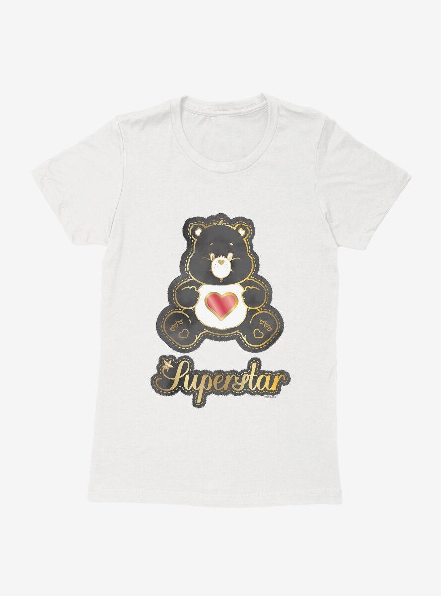 Care Bears Superstar Gold Script Womens T-Shirt