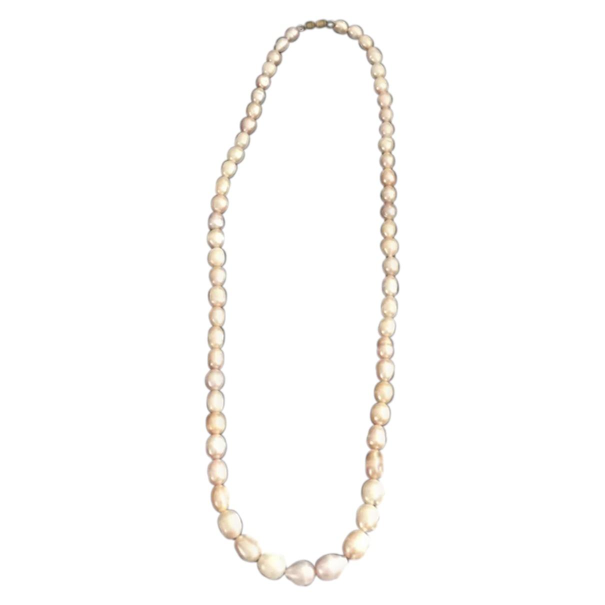 - Collier Nacre pour femme en perle - rose