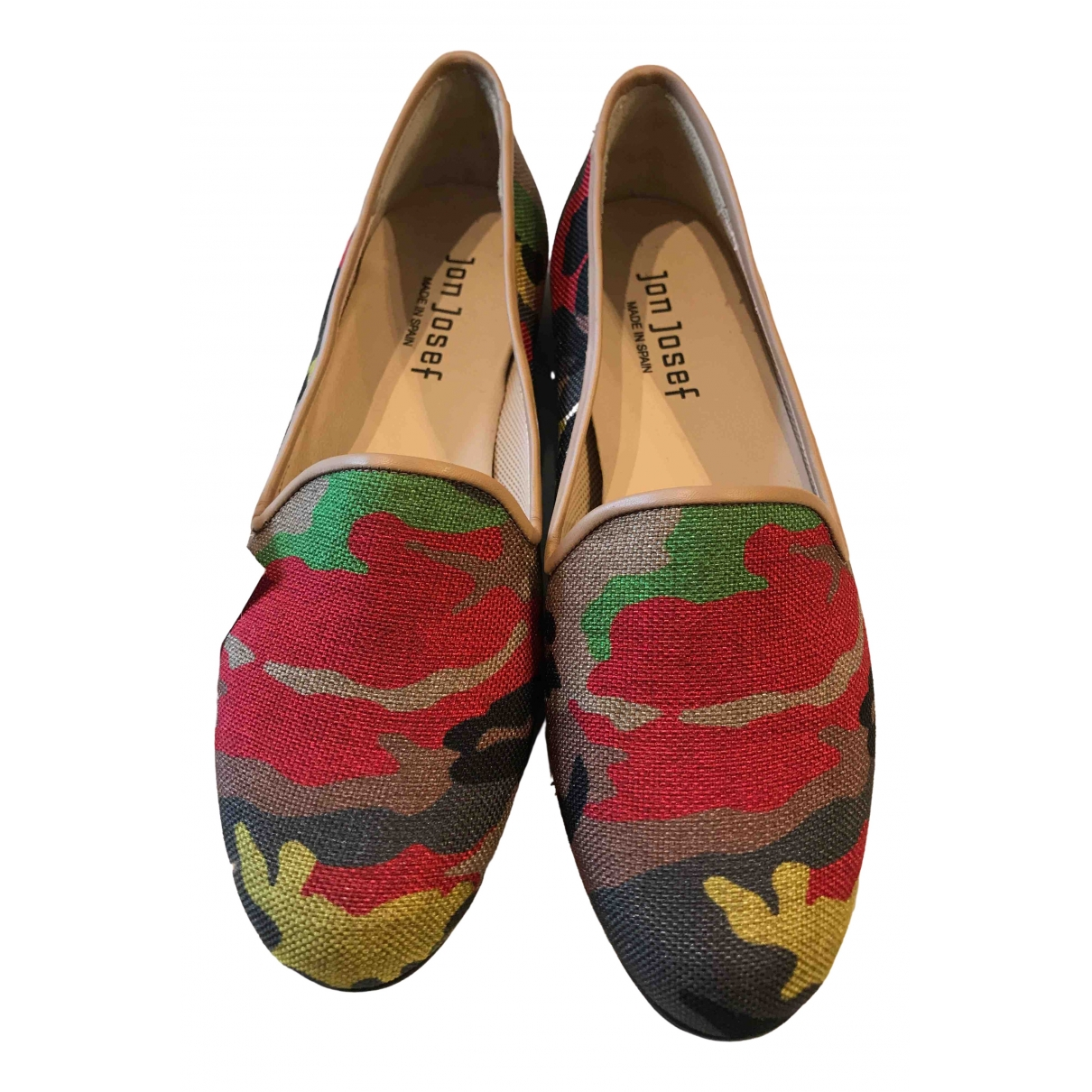 Non Signé / Unsigned \N Multicolour Cloth Flats for Women 6 US