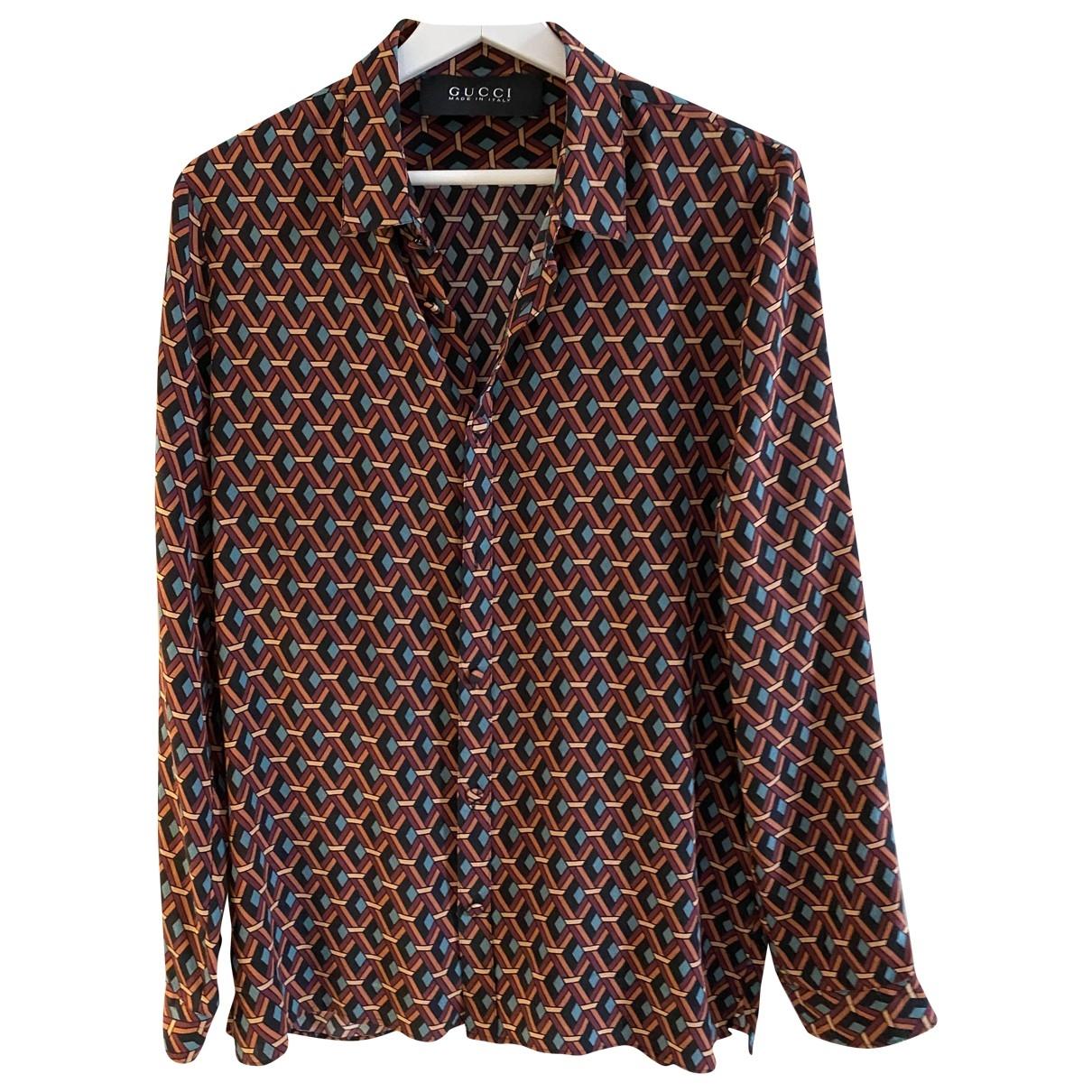 Gucci - Chemises   pour homme en soie - multicolore