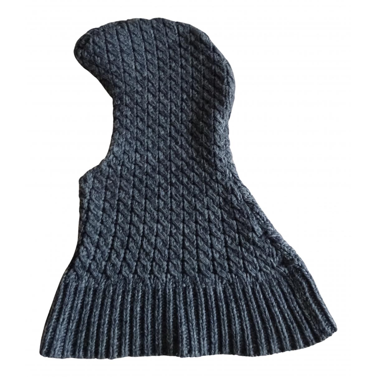 Dolce & Gabbana - Chapeau & Bonnets   pour homme en laine - gris