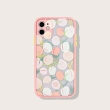 1pc Peach Pattern iPhone Case