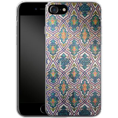 Apple iPhone 8 Silikon Handyhuelle - Tile Pattern von Omid Scheybani