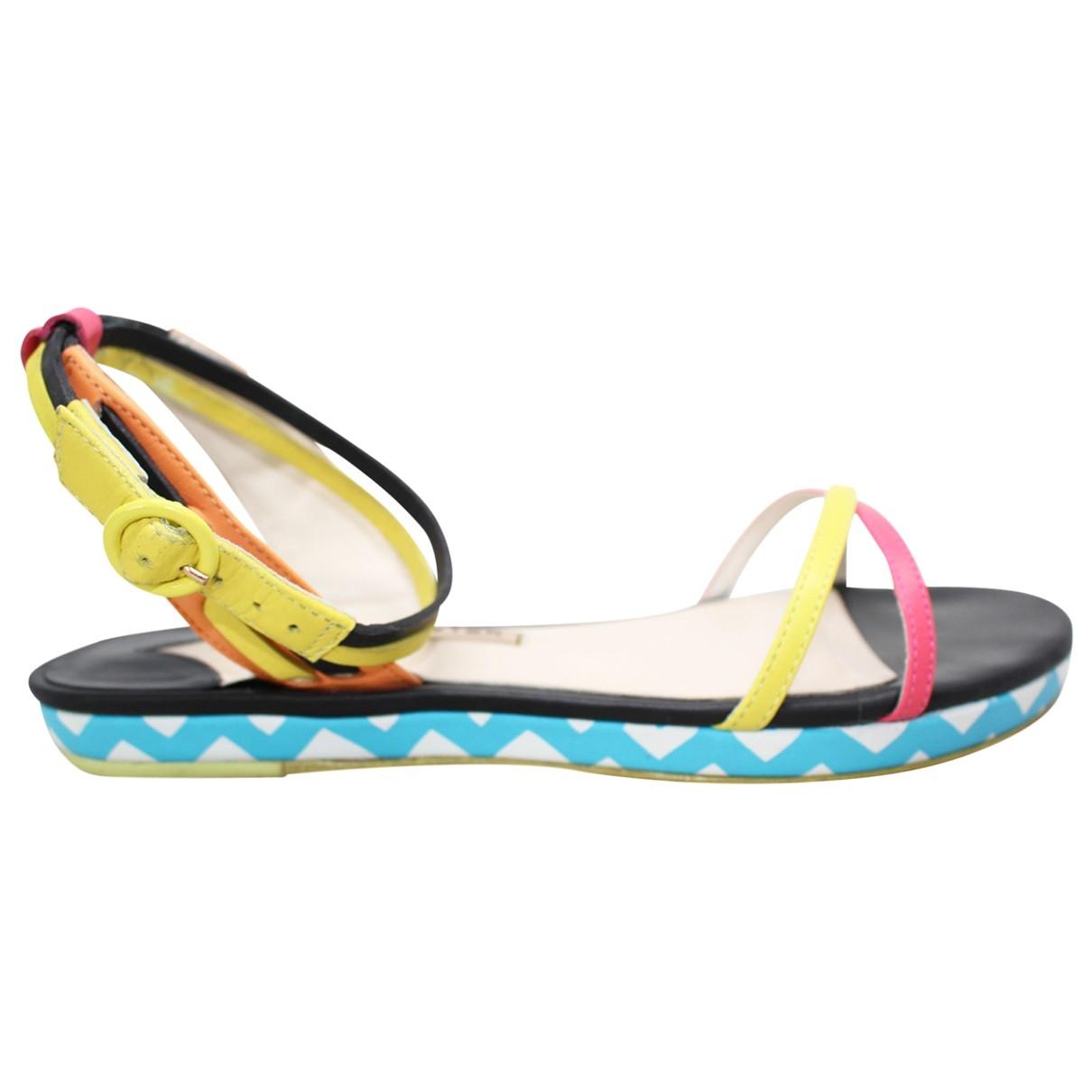 Sophia Webster \N Multicolour Patent leather Sandals for Women 36 EU