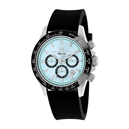 Oceanaut Mens Black Strap Watch-Oc6111r, One Size , No Color Family