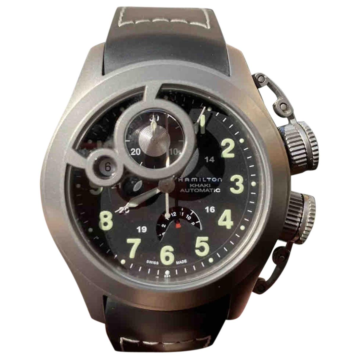 Hamilton N Silver Titanium watch for Men N
