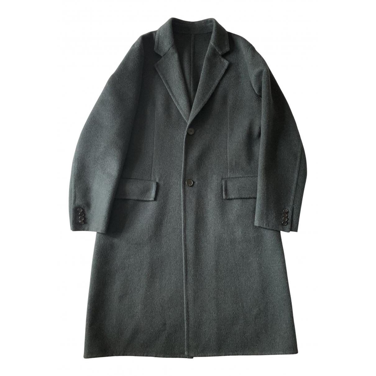 Calvin Klein 205w39nyc - Manteau   pour homme en cachemire - vert
