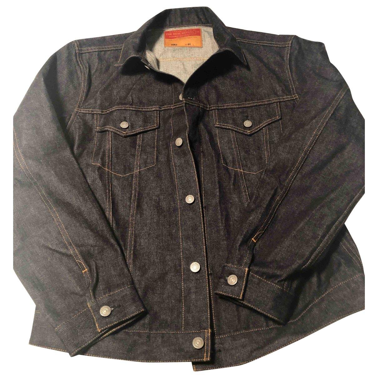 The Real Mccoys \N Jacke in  Blau Denim - Jeans