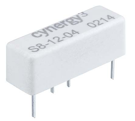 Cynergy3 Reed Relay, 12V dc Coil, 1kV switch