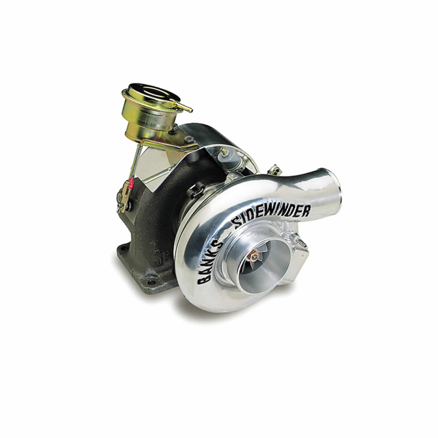 Sidewinder Turbo System Wastegated 89-93 Ford 7.3L Truck E4OD Automatic Transmission Banks Power 21062