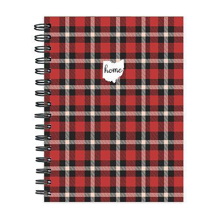 Tf Publishing Ohio Buffalo Plaid Journal, One Size , Multiple Colors