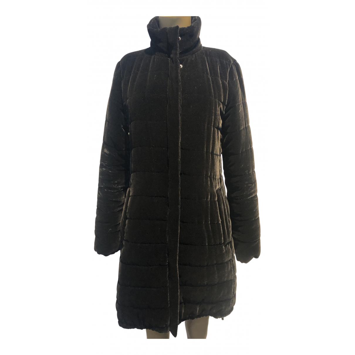 Aspesi - Manteau   pour femme en velours - noir