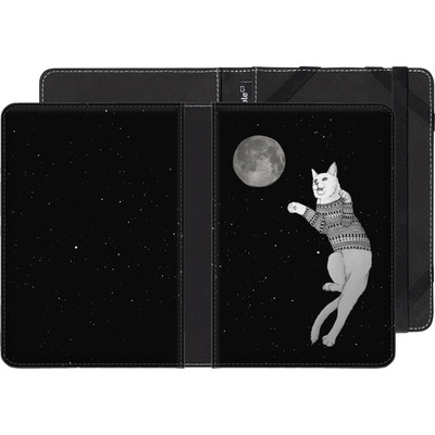 Amazon Kindle Paperwhite eBook Reader Huelle - Hipster Cat Trying to Catch the Moon von Barruf