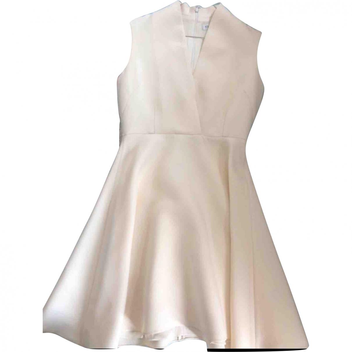 Dior \N Ecru Wool dress for Women 40 FR