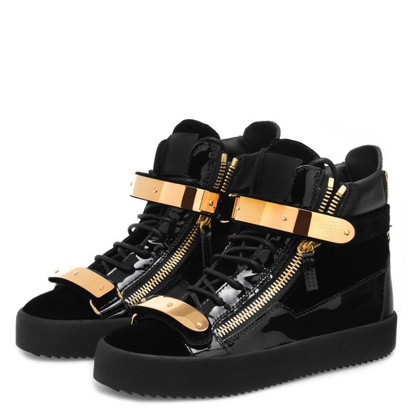 Ericdress Sequin Plain High-Cut Upper Men's Shoes