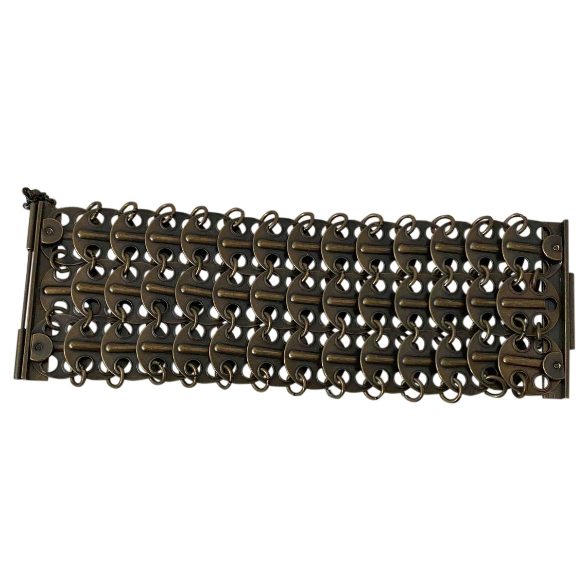 Yves Saint Laurent - Bracelet   pour femme en metal - metallise