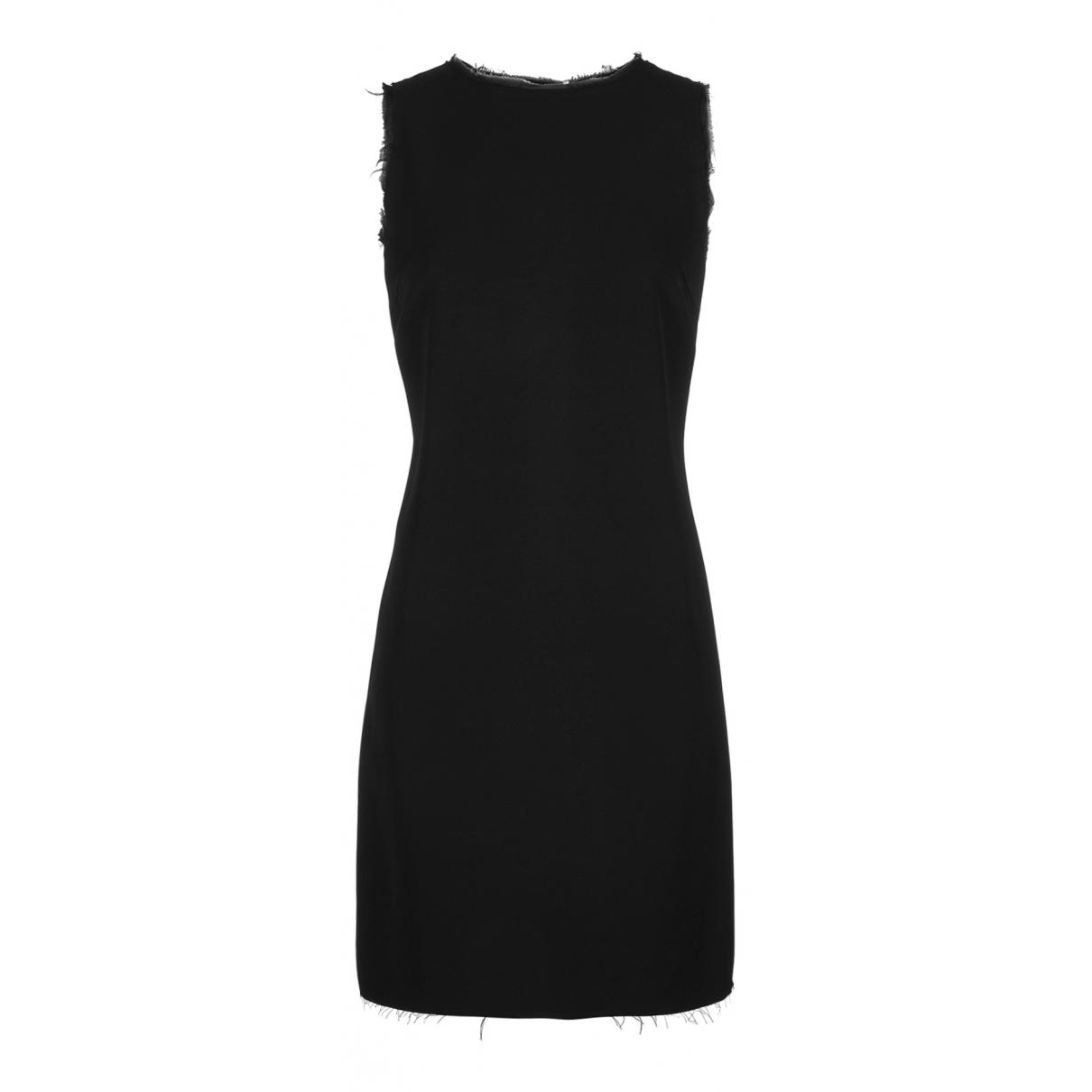 Maison Martin Margiela N Black Wool dress for Women 6 UK
