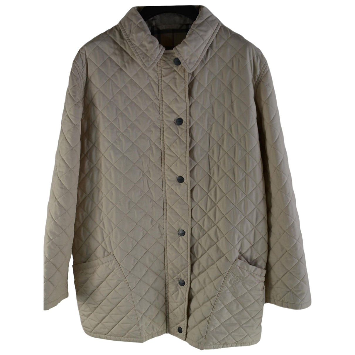 Burberry \N Jacke in  Beige Polyester
