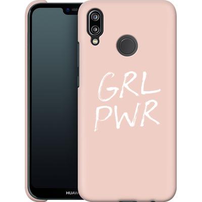 Huawei P20 Lite Smartphone Huelle - GRLPWR Rose von caseable Designs