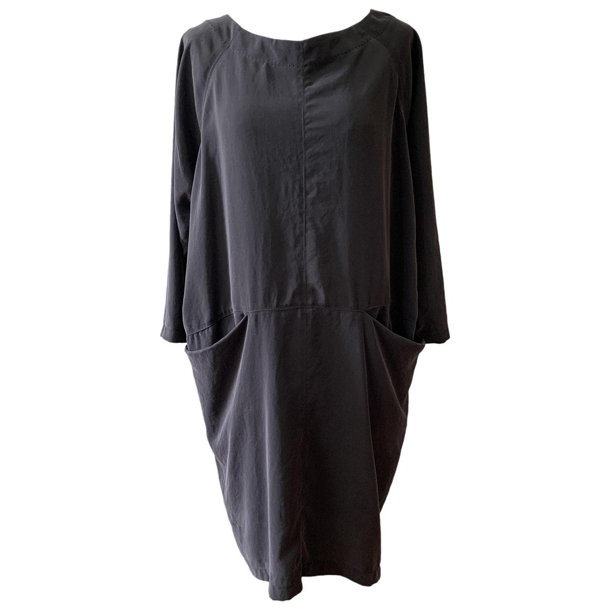 Humanoid \N Kleid in  Grau Viskose