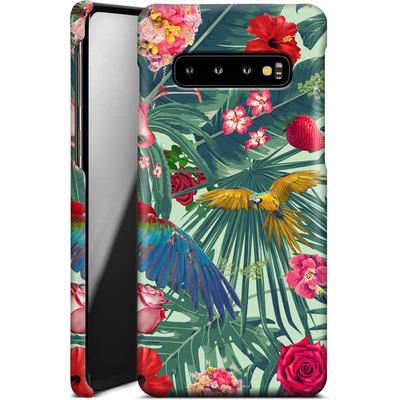 Samsung Galaxy S10 Smartphone Huelle - Tropic Fun von Mark Ashkenazi