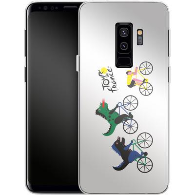 Samsung Galaxy S9 Plus Silikon Handyhuelle - Monster Race von Le Tour de France