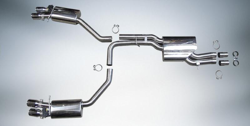 ABT 4G0208210 Muffler System Audi S6/S7 15-18