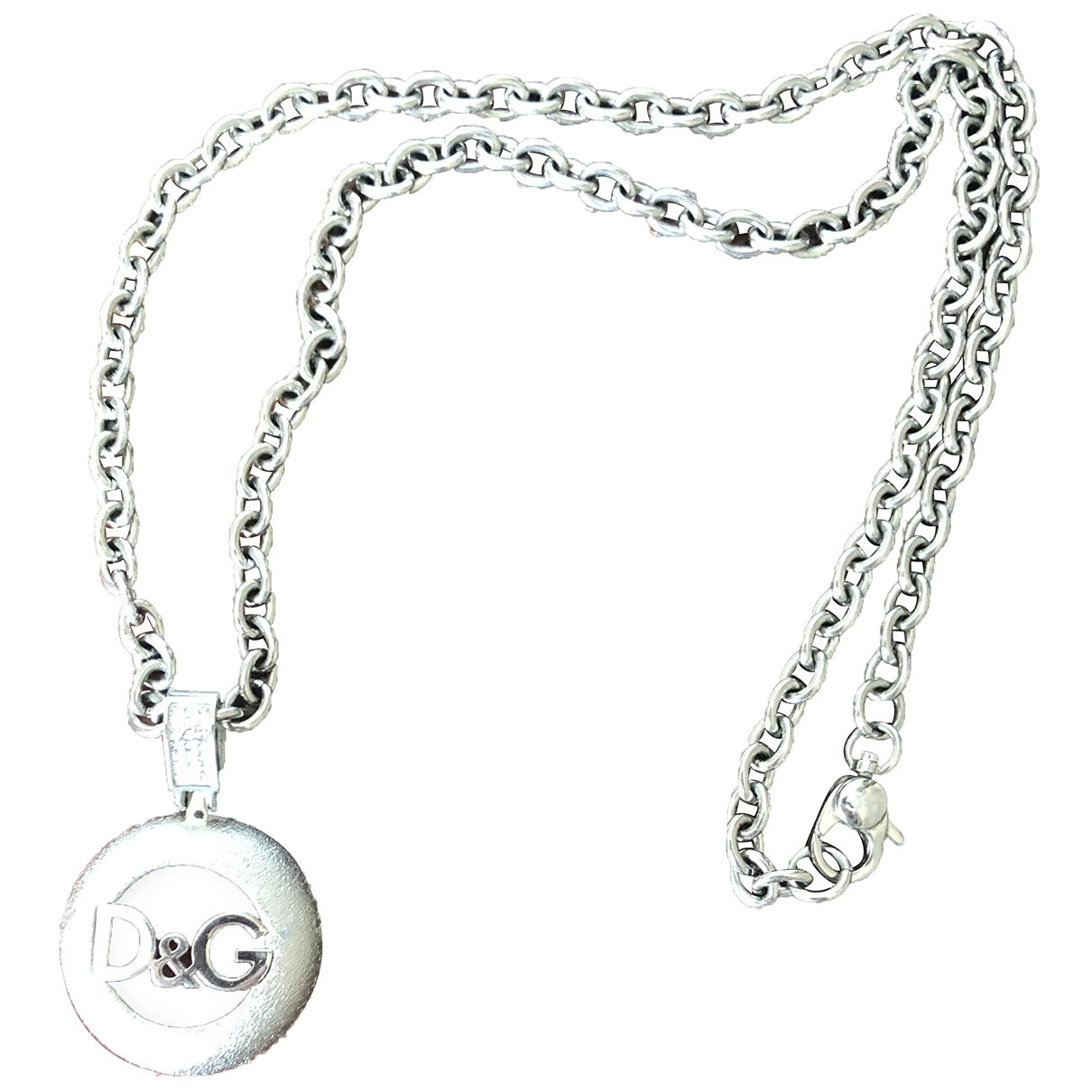 D&g \N Silver Metal necklace for Women \N