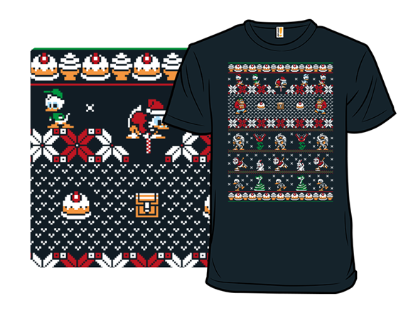 Merry Christmas Uncle Scrooge T Shirt