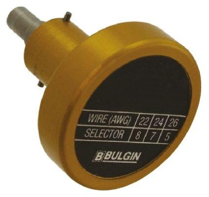 Bulgin Crimp contact locator,16&22w,6000 series