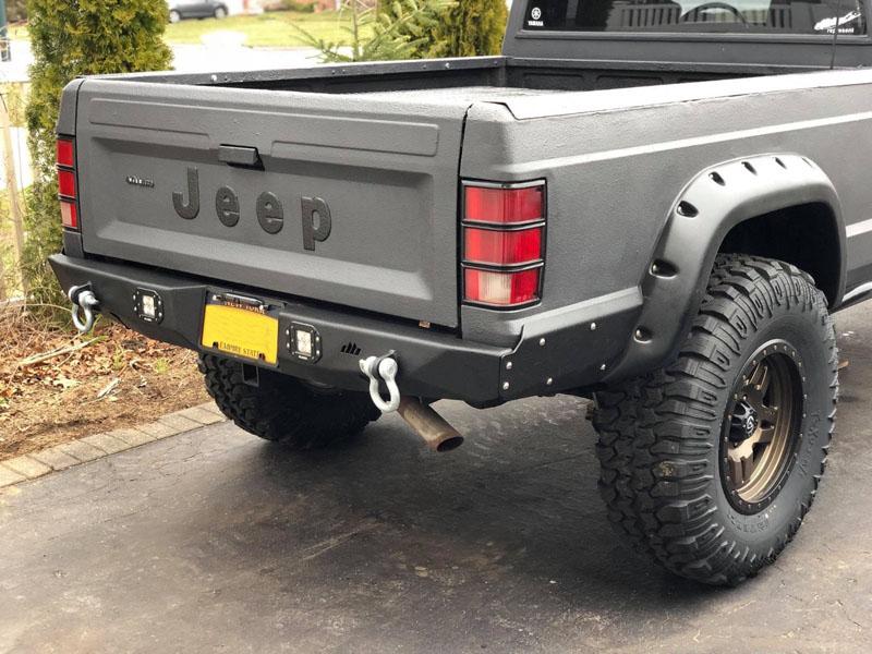 DirtBound Offroad 1113001 Manta Ray Rear Bumper Jeep Comanche MJ