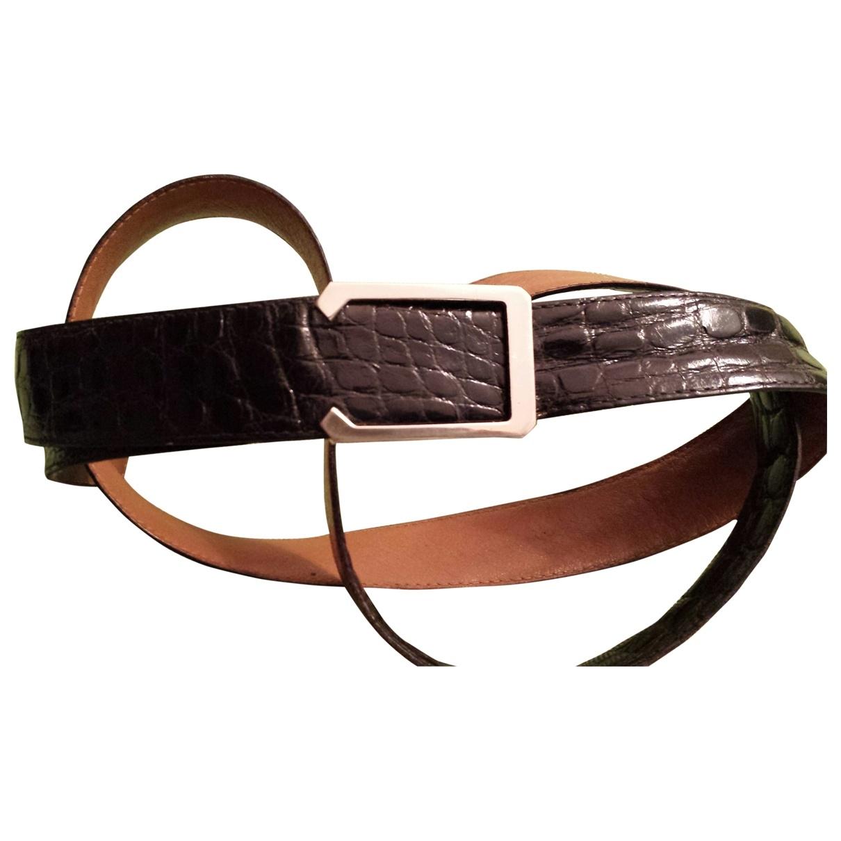 Cinturon de Cocodrilo A. Testoni