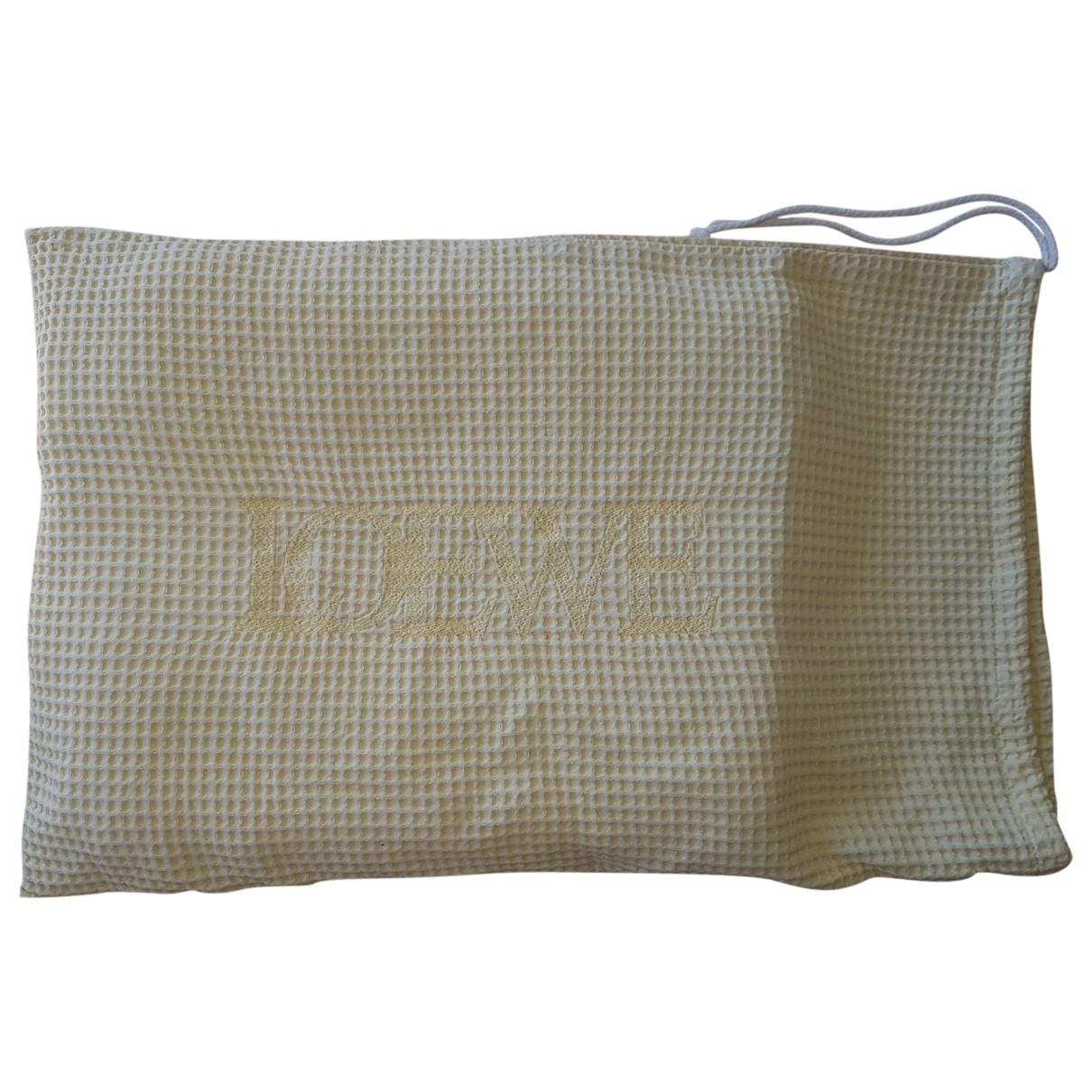 Loewe - Linge de maison   pour lifestyle en coton - jaune
