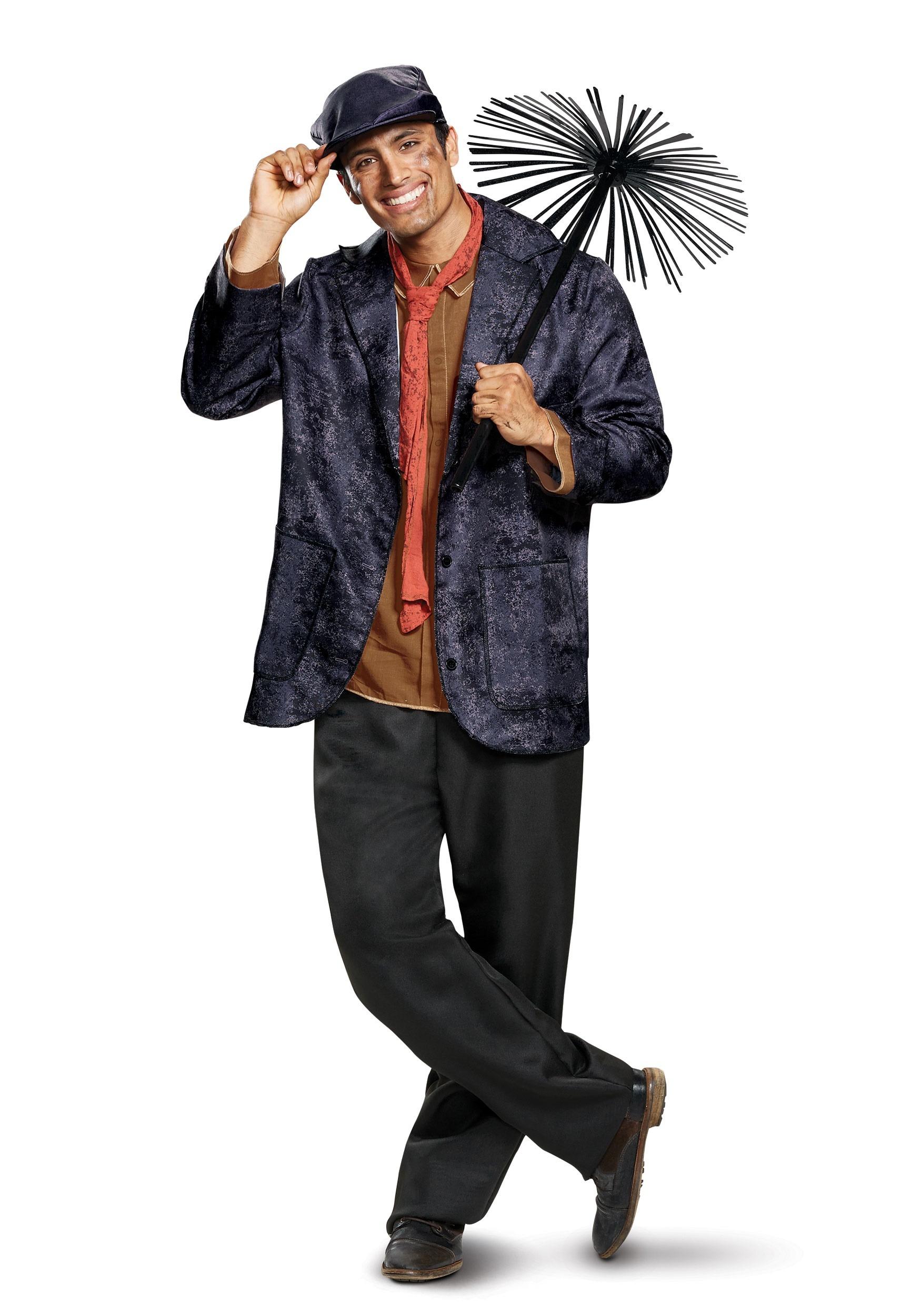 Mary Poppins Deluxe Bert Costume for Men